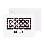 Knot - Black Greeting Cards (Pk of 20)