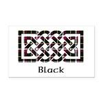 Knot - Black Rectangle Car Magnet