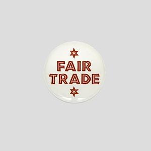 Activism - Fair Trade Mini Button