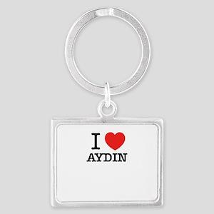 I Love AYDIN Keychains