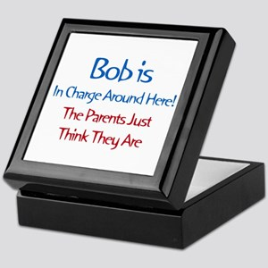 Bob Is In Charge Keepsake Box