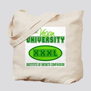 Vegan University Tote Bag