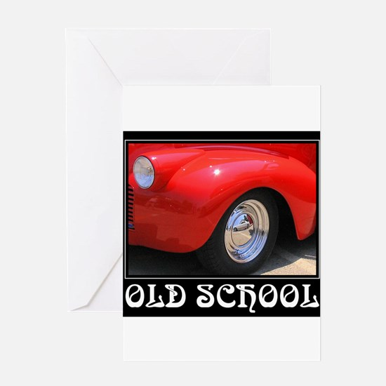 Cute Mechanic school Greeting Card