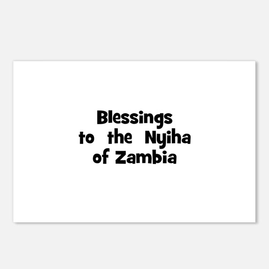Blessings  to  the  Nyiha of  Postcards (Package o