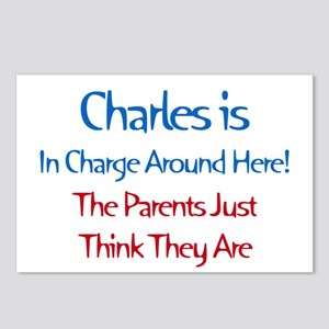 Charles Is In Charge Postcards (Package of 8)