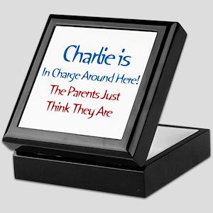 Charlie Is In Charge Keepsake Box