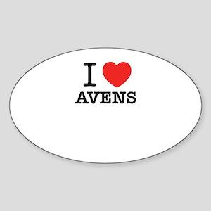 I Love AVENS Sticker