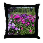 Matsumoto Flowers Throw Pillow
