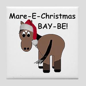 Mare-E-Christmas BAY-BE! Tile Coaster