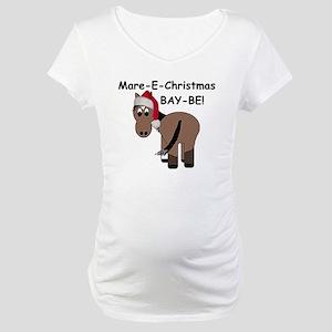 Mare-E-Christmas BAY-BE! Maternity T-Shirt