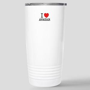 I Love AVATAR Stainless Steel Travel Mug