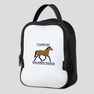 I Love My Quarter Horse Neoprene Lunch Bag
