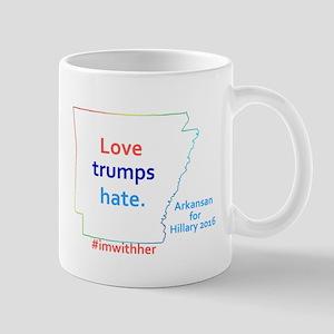 HIllary Arkansas 2016 Mugs