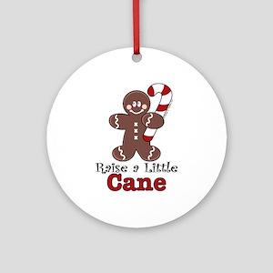 Raise Cane Gingerbread Christmas Ornament (Round)