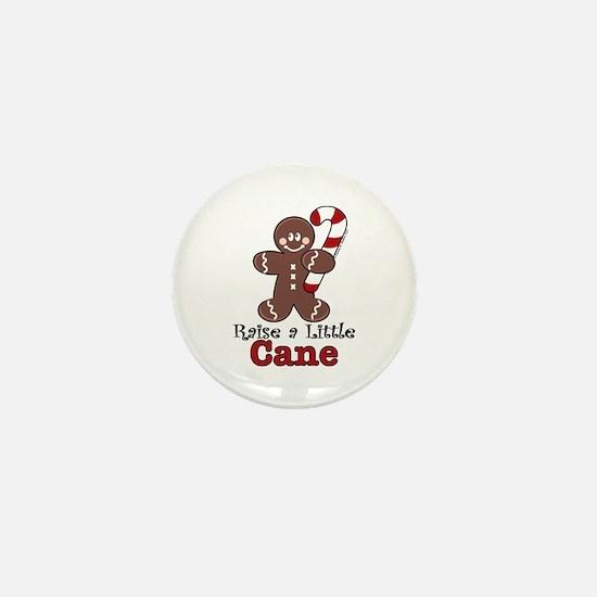 Raise Cane Gingerbread Christmas Mini Button