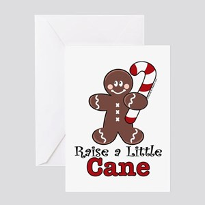 Raise Cane Gingerbread Christmas Greeting Card