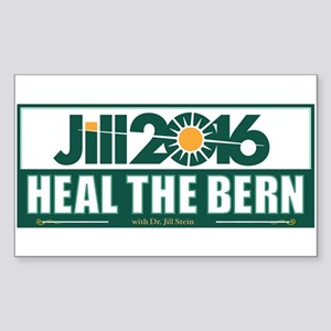 Jill Stein Heal the Bern Sticker