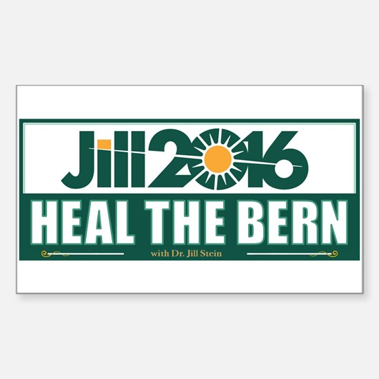 Jill Stein Heal the Bern Decal