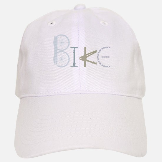 Bike Word from Bike Parts Hat