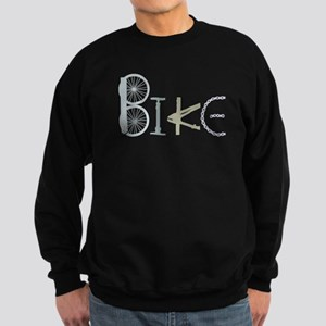 Bike Word from Bike Parts Sweatshirt