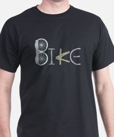 Bike Word from Bike Parts T-Shirt
