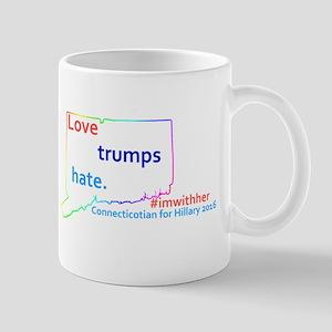 Hillary Connecticut 2016 Mugs