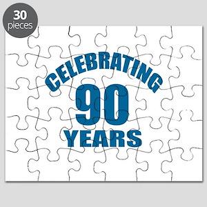 Celebrating 90 Years Birthday Designs Puzzle