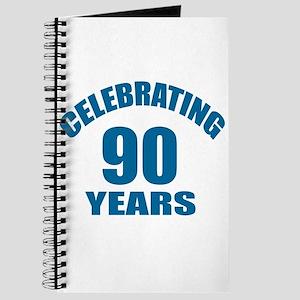 Celebrating 90 Years Birthday Designs Journal