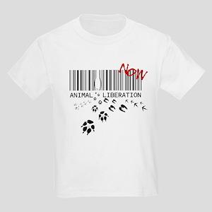 animal liberation...NOW Kids Light T-Shirt