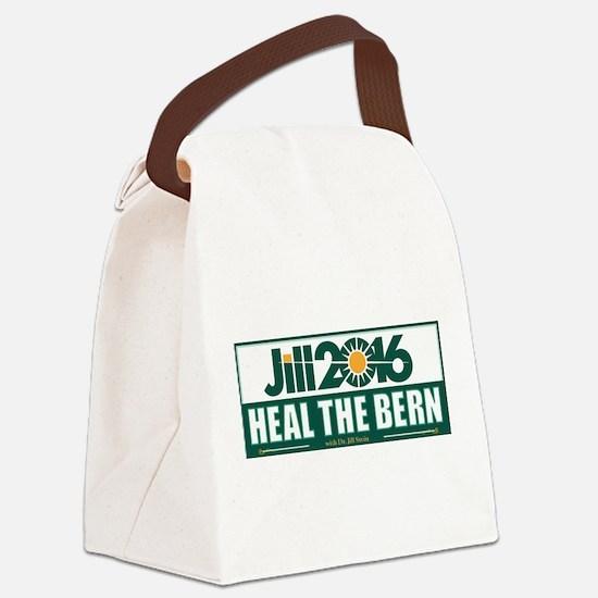 Jill Stein Heal the Bern Canvas Lunch Bag