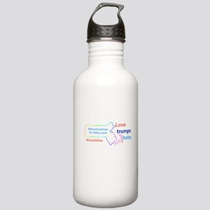 Hillary Massachusetts Stainless Water Bottle 1.0L