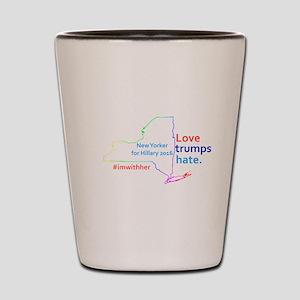 Hillary New York 2016 Shot Glass