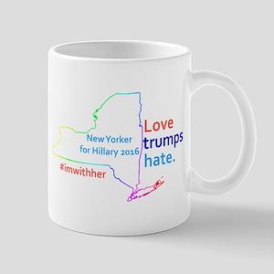 Hillary New York 2016 Mugs