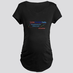Hillary Tennessee 2016 Maternity T-Shirt