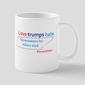 Hillary Tennessee 2016 Mugs