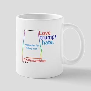 HIllary Alabama 2016 Mugs