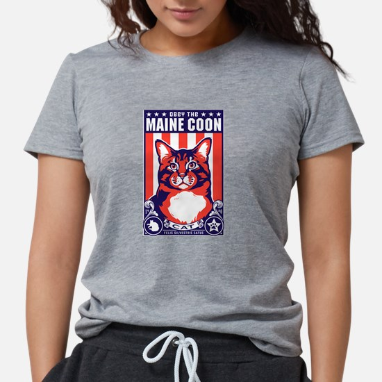 Obey the Maine Coon Cat! T-Shirt