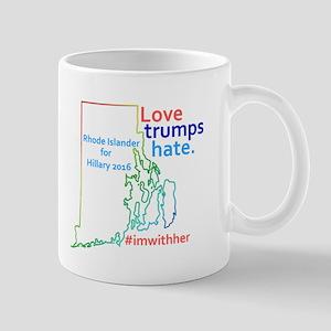 Hillary Rhode Island 2016 Mugs