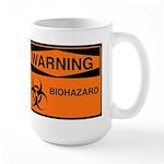 Large Biohazard Mug