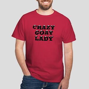 Crazy Goat Lady Dark T-Shirt