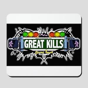 Great Kills (Black) Mousepad