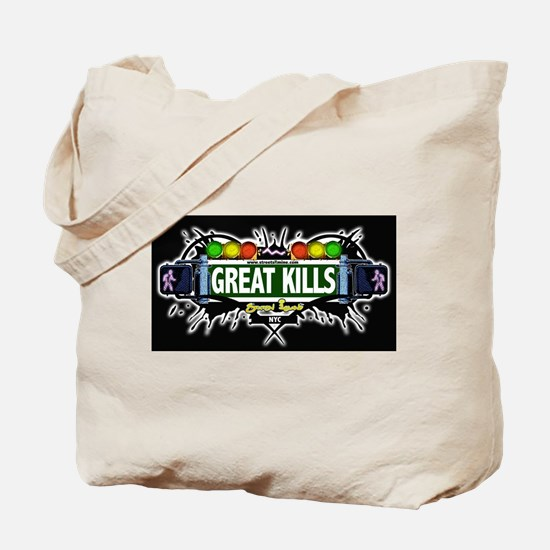 Great Kills (Black) Tote Bag