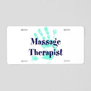 Massage Therapist Aluminum License Plate