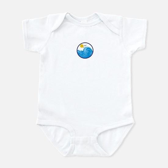 Beach Lover Infant Bodysuit