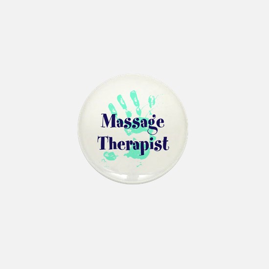 Massage Therapist Mini Button