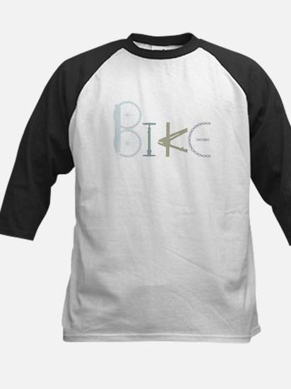 Bike Word from Bike Parts Baseball Jersey
