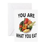 GOOD FOOD Greeting Cards