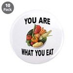 """Good Food 3.5"""" Button (10 Pack)"""