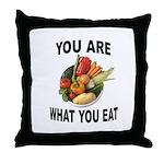 GOOD FOOD Throw Pillow