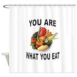 GOOD FOOD Shower Curtain